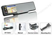 Bluetooth Rear View Mirror Complete